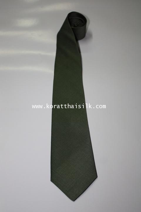 เนคไท สีเขียวขี้ม้า 1 size M