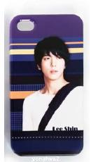 Jung Yonghwa : iPhone Case (4/4S) Purple