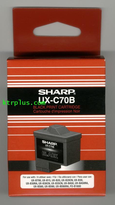 เครื่องโทรสาร(แฟ็กซ์) SHARP UX-C70B (Inkjet)