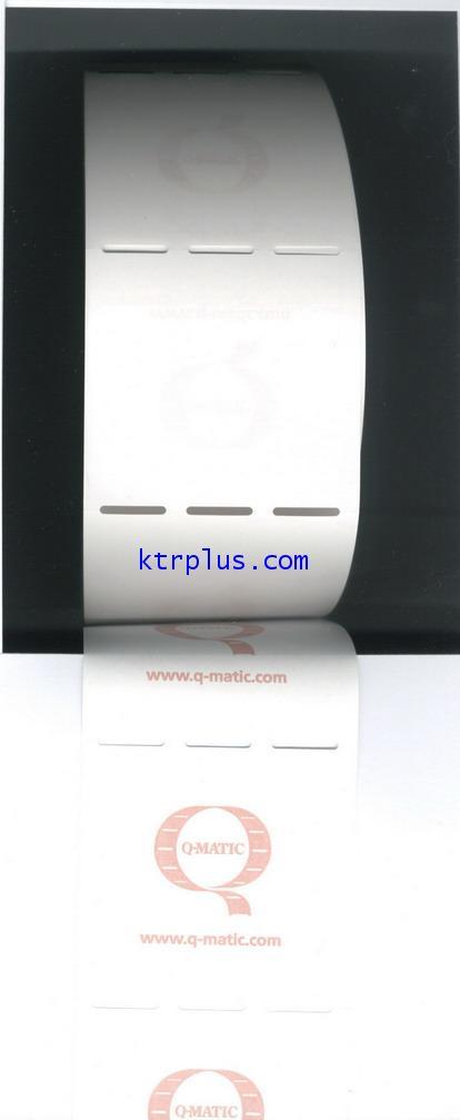 กระดาษบัตรคิว Thermal ของ Q-MATIC