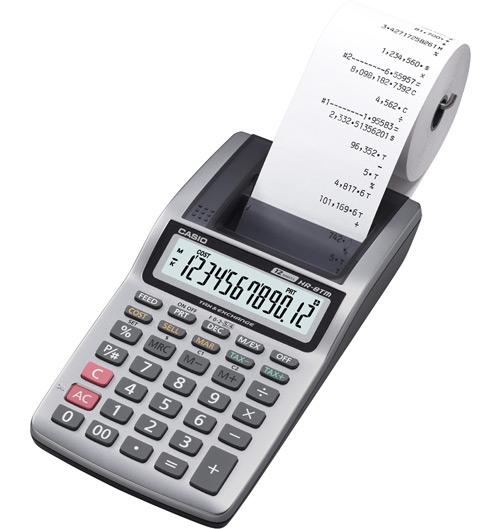 เครื่องคำนวณเลข CASIO HR-8TM ( 12 หลัก )