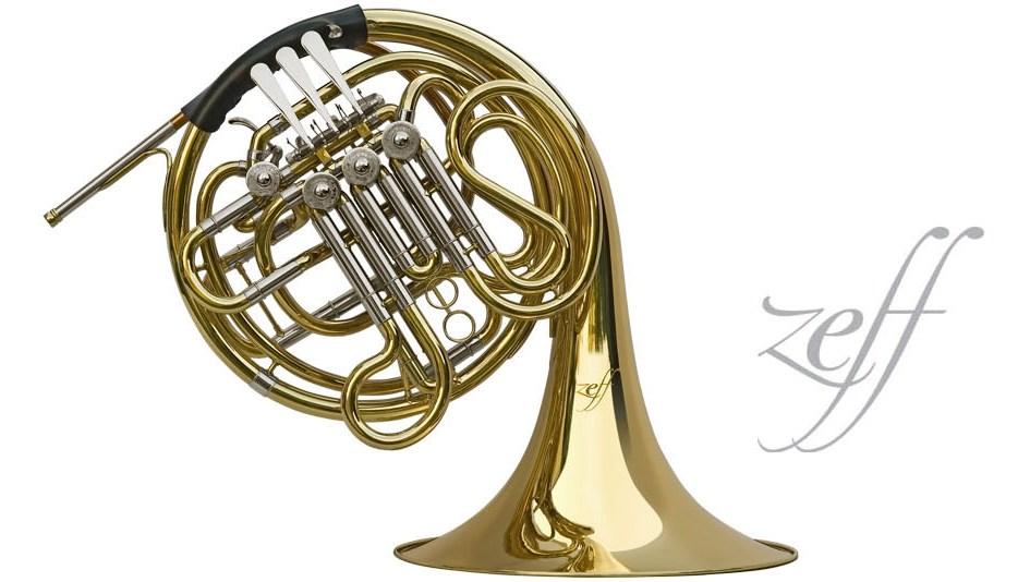 French horn ยี่ห้อ Zeff  รุ่น ZDC-304