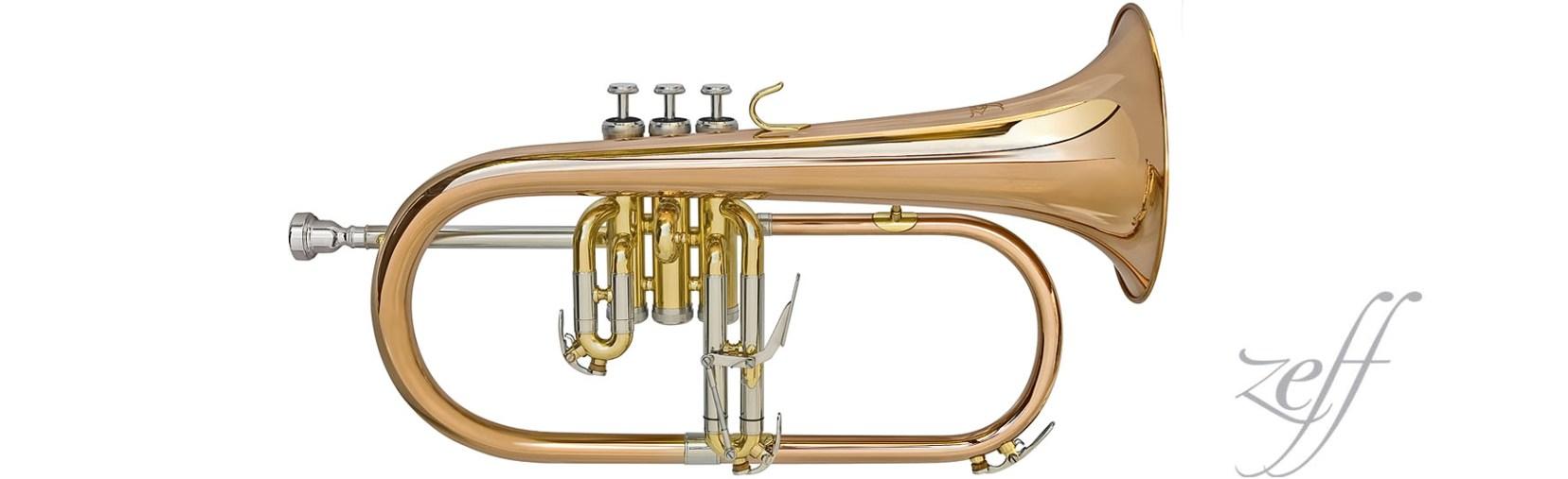 flugel horn ยี่ห้อ Zeff  รุ่น ZFL-665L