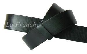 เข็มขัด Handmade สีดำ ลายหนังธรรมชาติ กว้าง 1.3 นิ้ว