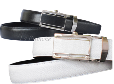 ชุดเข็มขัดเข้าชุดเซ็ตคู่สีดำและสีขาว - Set no.1