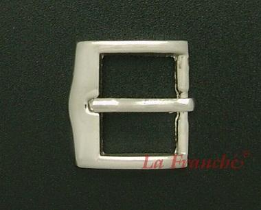หัวเข็มขัดสีนิกเกิ้ลเงา, ขนาด 0.7 นิ้ว - code 7n01016s