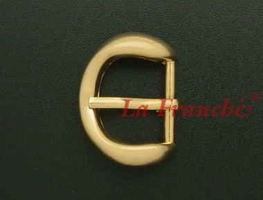 หัวเข็มขัดสีทองชุบเงา, ขนาด 0.7 นิ้ว - code 7G01001s
