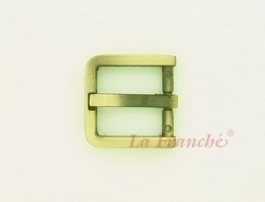 หัวเข็มขัดสีทองชุบ, ขนาด 0.7 นิ้ว - code 7G01012