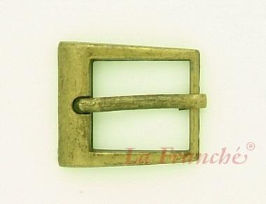 หัวเข็มขัดสีทองชุบ, ขนาด 0.7 นิ้ว - code 7G01014