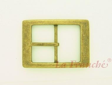 หัวเข็มขัดแกนกลางสีทองชุบ, ขนาด 1.5 นิ้ว - code 5G04007