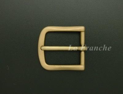 หัวเข็มขัดทองเหลืองแท้ ขนาด 1.2 นิ้ว - code 2M01012