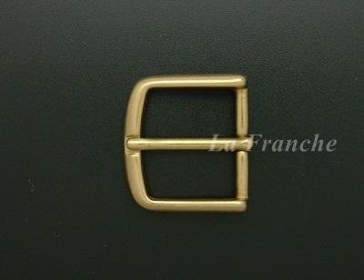 หัวเข็มขัดทองเหลืองแท้, ขนาด 1.2 นิ้ว - code 2M01013