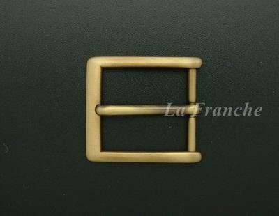 หัวเข็มขัดทองเหลืองแท้, ขนาด 1.2 นิ้ว - code 2M01027