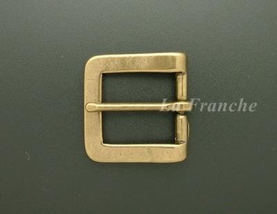 หัวเข็มขัดทองเหลืองแท้, ขนาด 1.2 นิ้ว - code 2M01029