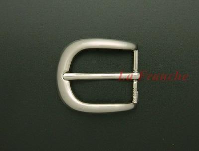 หัวเข็มขัดสีนิกเกิ้ล, ขนาด 1.2 นิ้ว - code 2n01002