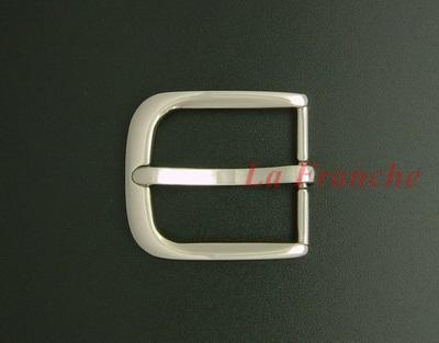 หัวเข็มขัดสีนิกเกิ้ลเงา, ขนาด 1.2 นิ้ว - code 2n01026s