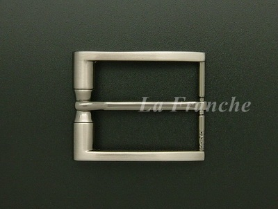 หัวเข็มขัดสีนิกเกิ้ลรมดำ ขนาด 1.3 นิ้ว  - code 3n01009b