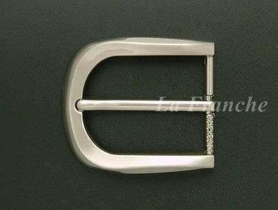 หัวเข็มขัดสีนิกเกิ้ล, ขนาด 1.3 นิ้ว - code 3n01030
