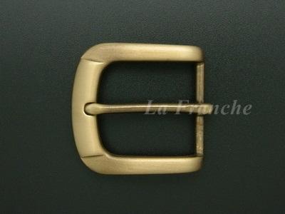 หัวเข็มขัดทองเหลืองแท้, ขนาด 1.3 นิ้ว - code 3M01001