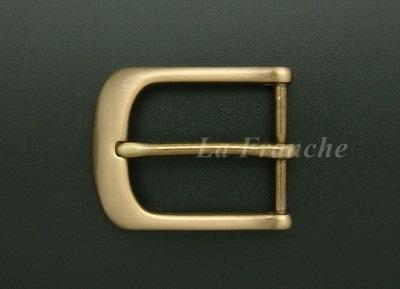 หัวเข็มขัดทองเหลืองแท้, ขนาด 1.3 นิ้ว - code 3M01002