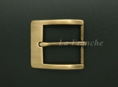 หัวเข็มขัดทองเหลืองแท้, ขนาด 1.3 นิ้ว - code 3M01003