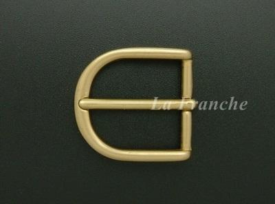 หัวเข็มขัดทองเหลืองแท้, ขนาด 1.2 นิ้ว - code 2M01001