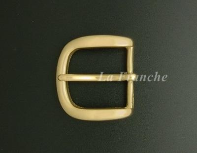 หัวเข็มขัดทองเหลืองแท้เงา, ขนาด 1.2 นิ้ว - code 2M01006s