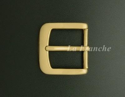 หัวเข็มขัดทองเหลืองแท้เงา, ขนาด 1.2 นิ้ว - code 2M01015s