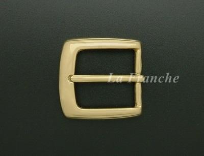 หัวเข็มขัดทองเหลืองแท้เงา, ขนาด 1.2 นิ้ว - code 2M01019s