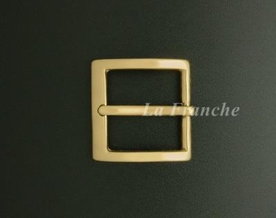 หัวเข็มขัดทองเหลืองแท้เงา, ขนาด 1.2 นิ้ว - code 2M01026s