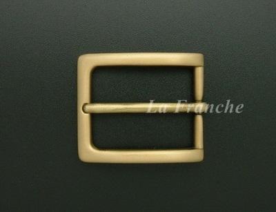 หัวเข็มขัดทองเหลืองแท้, ขนาด 1.2 นิ้ว - code 2M01028
