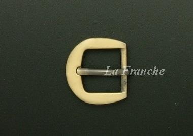 หัวเข็มขัดสีทองชุบ, ขนาด 0.7 นิ้ว - code 7G01006