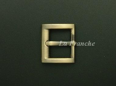 หัวเข็มขัดสีทองชุบ, ขนาด 0.7 นิ้ว - code 7G01013