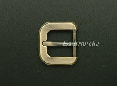 หัวเข็มขัดสีทองชุบ, ขนาด 0.7 นิ้ว - code 7G01017
