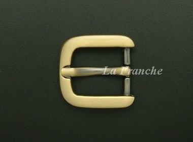 หัวเข็มขัดสีทองชุบ, ขนาด 0.7 นิ้ว - code 7G01018