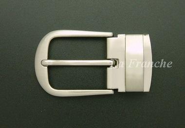 หัวเข็มขัดหนีบเข็ม สีนิกเกิ้ล, ขนาด 1.2 นิ้ว - code 2n06021