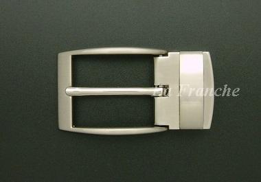 หัวเข็มขัดหนีบเข็ม สีนิกเกิ้ล, ขนาด 1.2 นิ้ว - code 2n06024