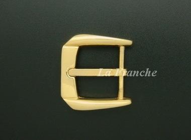 หัวเข็มขัดสีทองชุบ เงา, ขนาด 1.2 นิ้ว - code 2G01021s