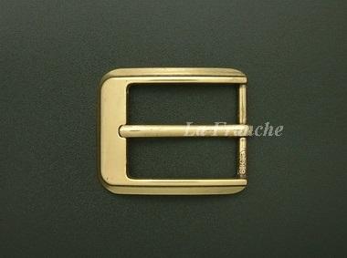 หัวเข็มขัดสีทองชุบ, ขนาด 1.2 นิ้ว - code 2G01039