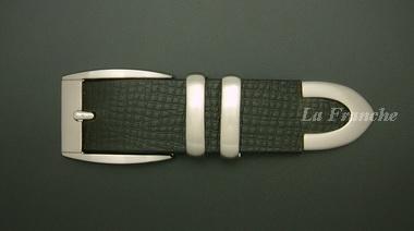 หัวเข็มขัดชุดสีนิกเกิ้ล, ขนาด 1.3 นิ้ว – set 2