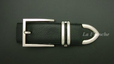 หัวเข็มขัดชุดสีนิกเกิ้ลเงา, ขนาด 1.3 นิ้ว – set  6