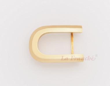 หัวเข็มขัดทองเหลือง อักษร C  (เฉพาะหัว)