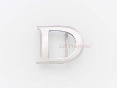 หัวเข็มขัดสแตนเลส อักษร D (เฉพาะหัว)