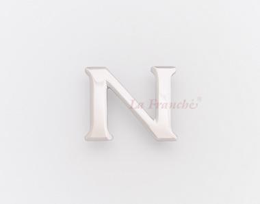 หัวเข็มขัดสแตนเลส อักษร N (เฉพาะหัว)