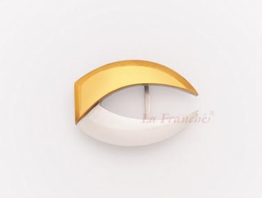 หัวเข็มขัดสแตนเลส-ทองเหลือง อักษร C  (เฉพาะหัว งานสั่งทำ)