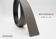 3.1 cm. Reversible Pebble Gray (Code : 31M0212)