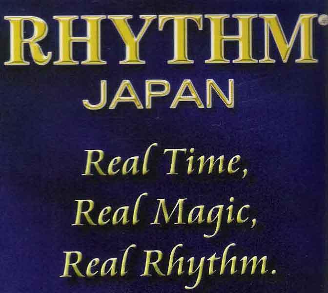 นาฬิกา Rhythm หลากหลายรูปแบบแท้จากประเทศญี่ปุ่น