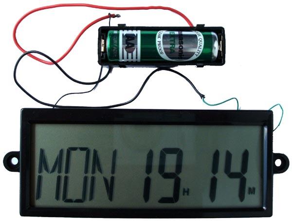 ชุดหน้าจอแสดงผล ระบบ LCD