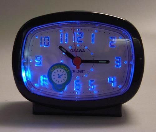 นาฬิกาปลุก OSAWA รุ่น BB540B สีดำ