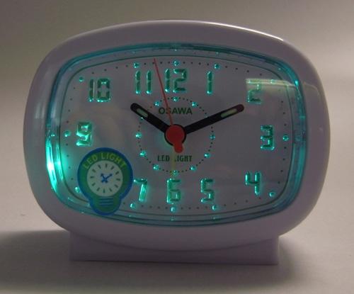 นาฬิกาปลุก OSAWA รุ่น BB540B สีขาว